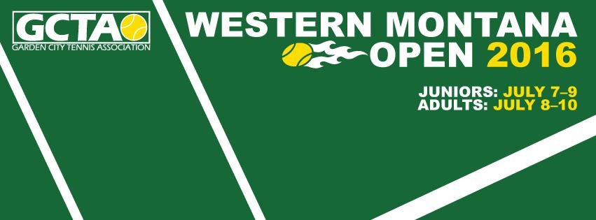 Western Montana Open 2016 logo